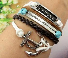 Vintage Believe Bracelet
